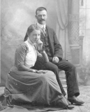 1880 Charlotte Shiels and Earnest Stearns