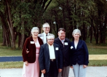 1982 Janet and Bill Ford, Norman Shiels, Peter and Donna Allen