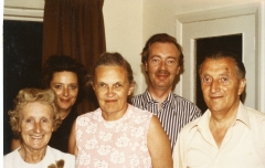 2005 George and Peggy Shiels with Ron and Meryl Harris and Janet Ford