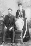 1883 Elizabeth Shiels and James Logan