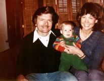 1980 Bill, Anne and David Logan