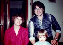 1982 Ron, Sharon and Michelle