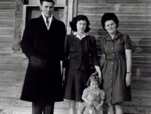 1945 Cliff, Olive and Ethel