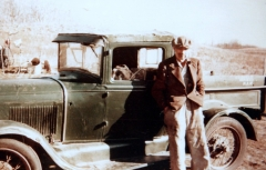 1960 John with his Model A