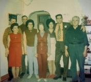 1976 George and Betty, Ethel and Oscar, Olive and Alun, Mel and Greta