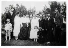 1920 Howard and Lottie wedding