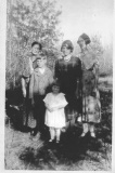 1932 Rachel, Lottie, Eveleen and kids