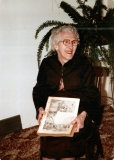 1985 Lottie with Family Bible
