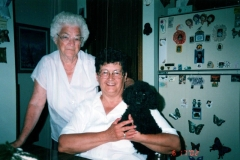 1999 Olive Gannon and Betty Tribe