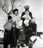 1955 George Shiels family