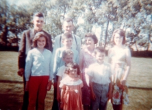 1963 George Shiels family
