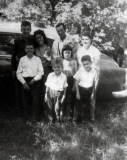 1963 George Shiels and family