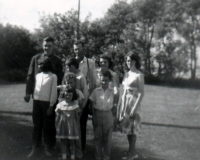 1964 George Shiels and family