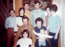1970 George and family