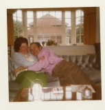 1973 George and Betty in England