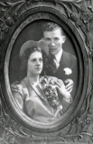 1946 Cliff and Lenore Wedding