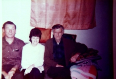 1970 John, Cliff and Lenore