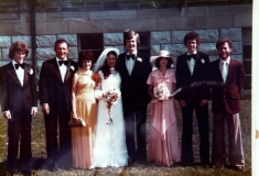 1977 Mike and Sheila wedding