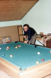 1984 Cliff playing pool