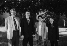 1998 Mike, Sheila, Andrew and Nicholas Crook