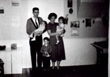 1957 Mel Shiels and Family