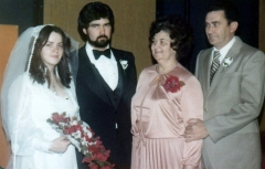 1980 Garry and Annette wedding